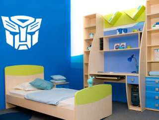AUTOBOT TRANSFORMERS MASK G1 Wall / Car Decal Sticker, Highest Quality
