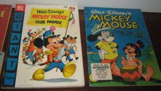 LOT DELL WALT DISNEYS MICKEY MOUSE UNCLE SCROOGE DONALD PLUTO