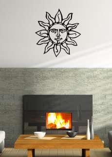SUN SILHOUETTE HOME DECOR VINYL DECAL WALL ART GRAPHIC