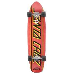 Santa Cruz Jammer Big Strip Cruzer Longboard Skateboard