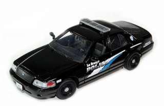 Ford Crown Victoria La Grange Police Car 1/24 BLK