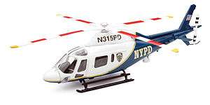NEW RAY 1/43 AGUSTA A119 KOALA NYPD NEW HELICOPTER 25923