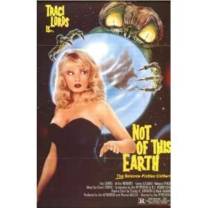 Traci Lords Is Not of Earth 14 X 22 Vintage Style