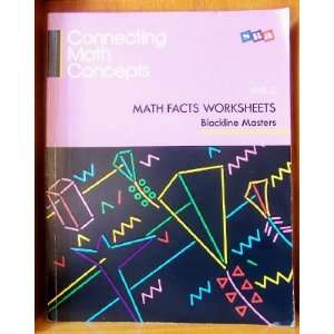 Connecting Math Concepts Math Facts Worksheets   Level C Engelmann