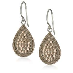 Anna Beck Designs Gili 18k Rose Gold Plated Teardrop Earrings