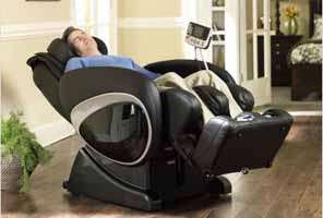 Cozzia Zero Anti Gravity Shiatsu Massage Chair Berkline16027