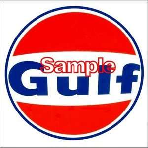 Gulf A Gas Oil Vinyl Stickers Decals Gasoline Pump Signs Globes