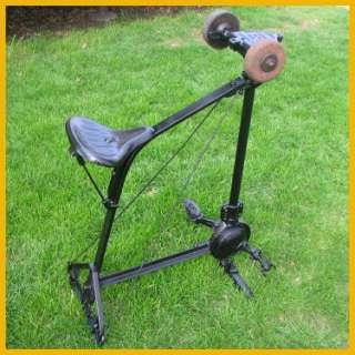 antique vintage Pedal grinder Luther cast iron rare unusual excellent