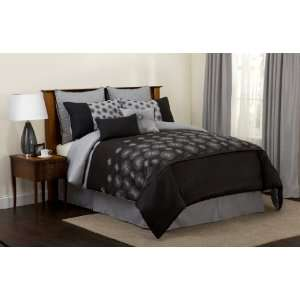 Lush decor tree branch 6 piece comforter set today for Decor 8 piece lunch set