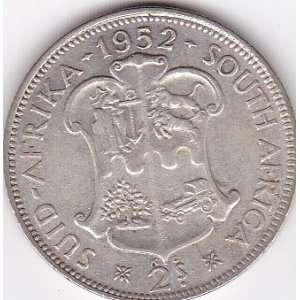 1953 South Africa 2 Shilling Silver Coin Everything Else