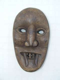 IBAN SPITITUAL MASK~ Gruesome Ghost Evil Spirit Expression Halloween