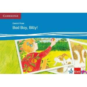 Bad Boy Billy L2 Csbk Klett (9783125747005) Gerald Rose Books