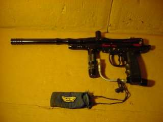 SPYDER SEMI AUTO SONIX PRO PAINTBALL MARKER GUN. WORKS GREAT AND IN