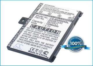 1250mAh Battery For  005, NOOK, BNRZ1000