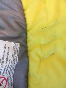 Peg Perego Primo Viaggio Car Seat Cover Set * Yellow/Silver