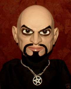 HAUNTED Anton LaVey Ventriloquist doll EYES FOLLOW YOU!