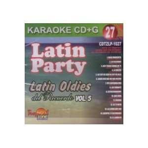 Vol. 5 Karaoke Latin Oldies Del Recuerdo: Latin Party Karaoke: Music