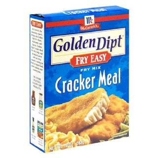 McCormick Golden Dipt Seafood Fry Mix, Cracker Meal, 10