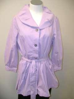 George Simonton Cotton Shirt w/ Ruched Collar & Belt