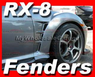 03 09 Mazda RX8 RX 8 JDM FRONT FENDERS 08 Speed Pair MS