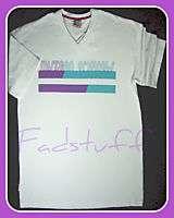 Mens White T Shirt TEE Urban Retro Hiphop Clothing Fresh NWT
