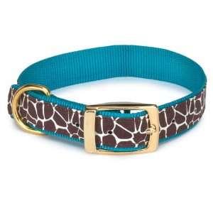 Animal Print Dog Neck Collar, 11 to 14 Inch, Giraffe: Pet Supplies