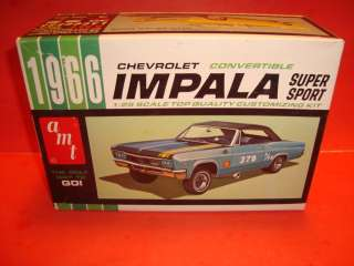 AMT 1966 Chevy Impala SS Conv. Unb. Model Car Kit