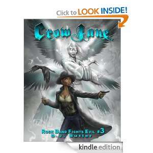 Crow Jane (Rock Band Fights Evil) eBook D.J. Butler