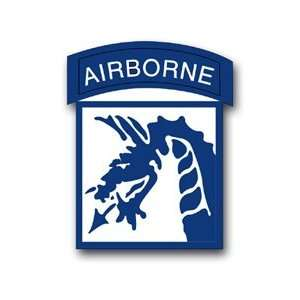 United States Army 18th US Army Airborne Corps Patch Decal Sticker 3.8