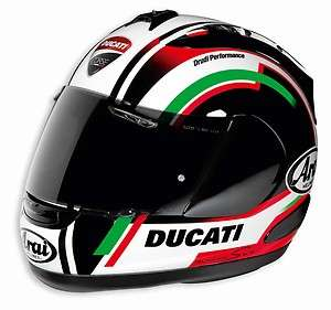DUCATI CORSE ARAI CORSAIR V RXGP 7 2012 HELMET NIB ALL SIZES