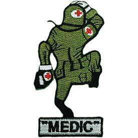 ARMY MEDIC FUNNY MEDICAL NURSE EMBROIDERED PATCH