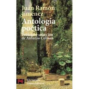 Anthology (Spanish Edition) (9788420673196): Juan Ramon Jimenez: Books