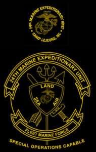 Marine Corps 24th MEU Marine Expeditionary Unit shirt
