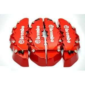 CHEVY VOLT RED Brembo Disc Brake Caliper Covers 4pcs Front and Rear