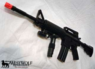 Army Special M4/M 16 Military Airsoft Assault Rifle/Gun + Laser