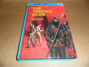 Hardy Boys The Twisted Claw #18 Young Adult Book