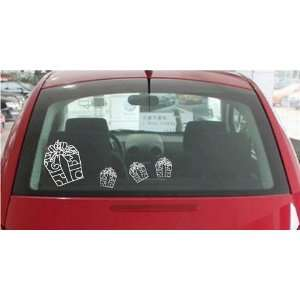 Large  Easy instant decoration car sticker  Gift Box