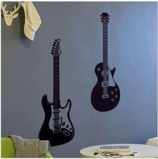 Guitar Music Art Deco Vinyl Wall Paper Sticker Decal297
