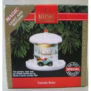 Hallmark Keepsake Yuletide Rider Magic Light and Motion Christmas Tree