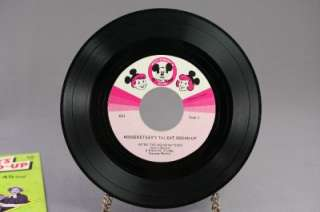 Disney Mickey Mouse Club Talent Roundup 45 Record 653