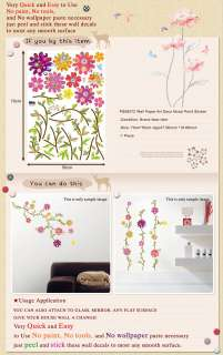 PS 58072 ART TREE WAll PAPER DECO MURAL POINT STICKER