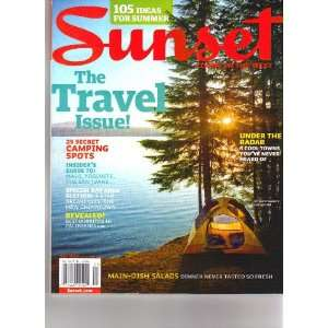 Sunset Living in the West Magazine May 2010   The Travel Issue Katie