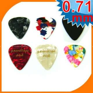 50x Assorted tour guitar pick 351 style signature new