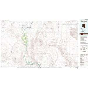 Trigo Mts. Arizona   California 1100,000 scale USGS Topographic Map