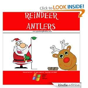 Christmas Craft Kids Rudolf Antlers (QuickCraft) QuickCraft