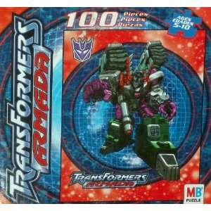 Transformers Armada Megatron 100 Piece Puzzle (2002): Toys