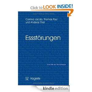 Essstörungen (German Edition): Thomas Paul, Andreas Thiel, Corinna