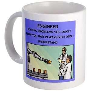 engineer engineering joke Funny Mug by CafePress: Kitchen