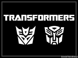 Transformers Autobot Logo Decal Vinyl Sticker (2x)