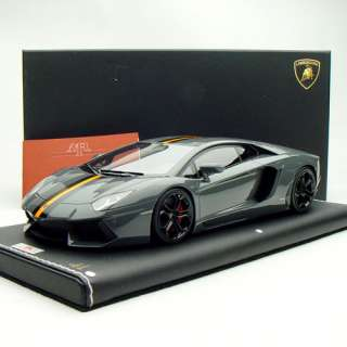18 MR Lamborghini Aventador LP700 4 Telesto Grigio China Ed. LE25